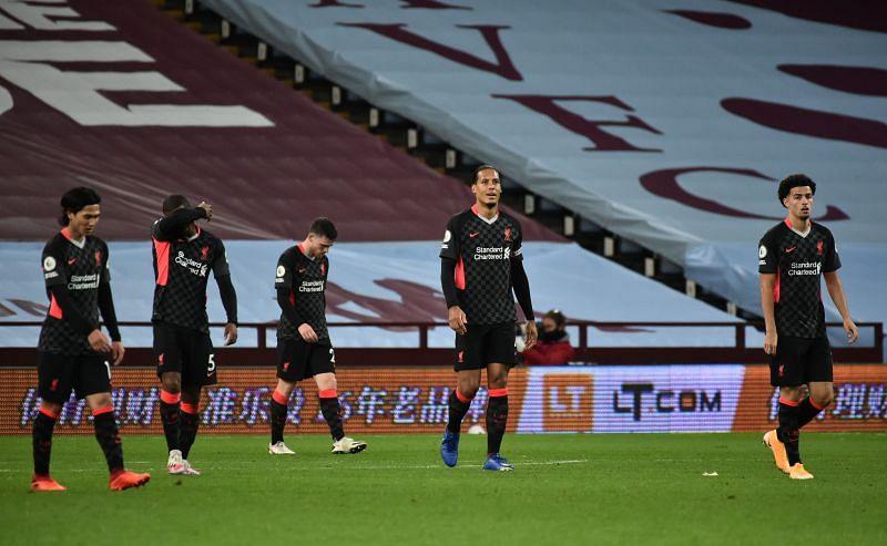 Aston Villa 7-2 Liverpool: Reds' Player Ratings as Villans ...