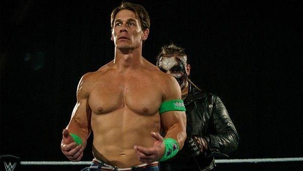 John Cena faced The Fiend at WrestleMania 36