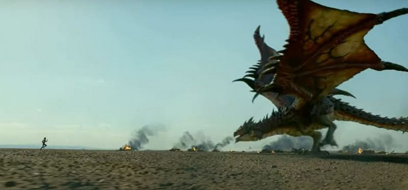 A still from the Monster Hunter trailer (Image Credits: IGN/ YouTube)