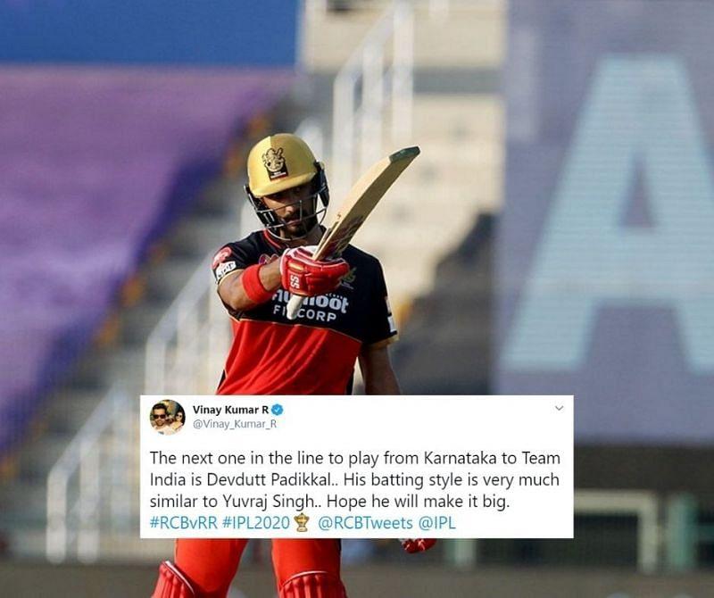 Devdutt Padikkal scored his 3rd fifty in 4 IPL 2020 games