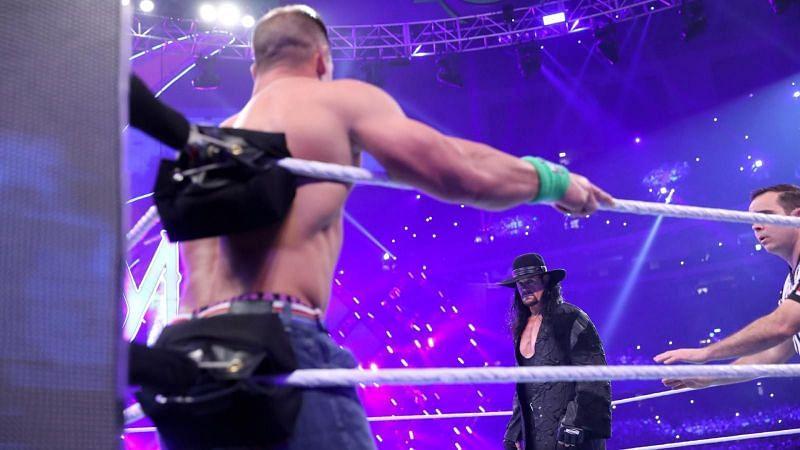 The Undertaker and John Cena