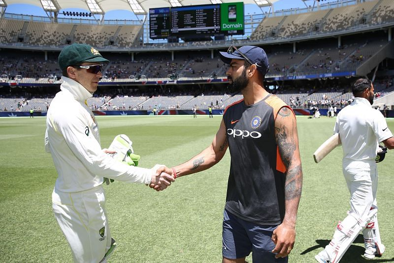 Virat Kohli and Tim Paine will face off once again Down Under