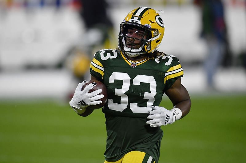 Can Packers RB Aaron Jones return to the lineup for an important NFC North battle?
