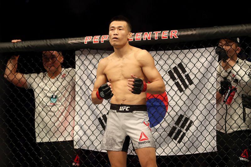 UFC featherweight The Korean Zombie