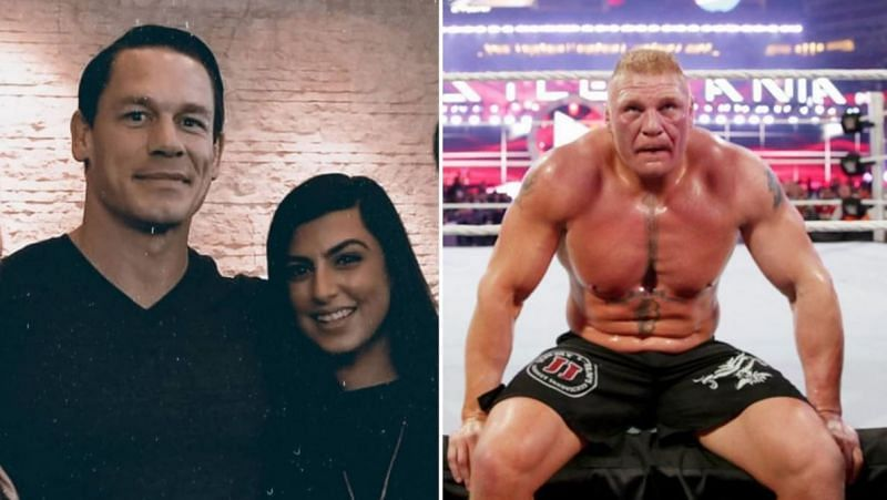 John Cena married Shay Shariatzadeh this week and we got an update on Brock Lesnar