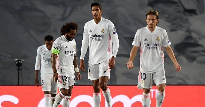 Real Madrid suffered a home defeat to Shakhtar Donetsk in the Champions League