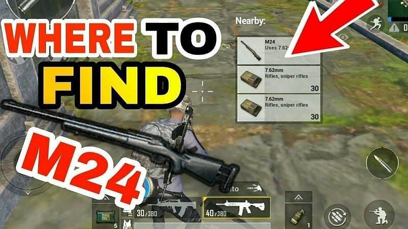5 best locations to find M24
