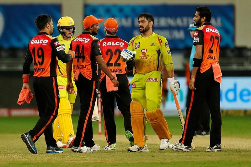 MS Dhoni could not take his side across the finishing line against SRH.