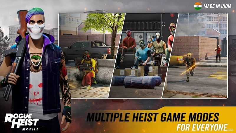 MPL Rogue Heist: All you need to know about the latest Indian PUBG Mobile alternative (Image Credits: Rogue Heist/Google Play Store)