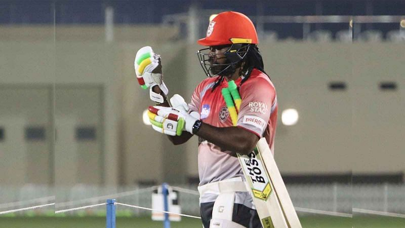 Could Chris Gayle return to the team against KKR? (PC: The Times of India)