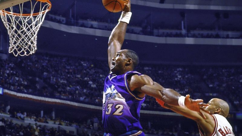 Karl Malone could not find his way to an NBA ring.