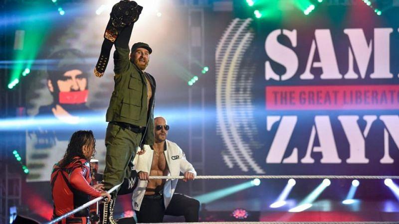 Sami Zayn is the current Intercontinental Champion