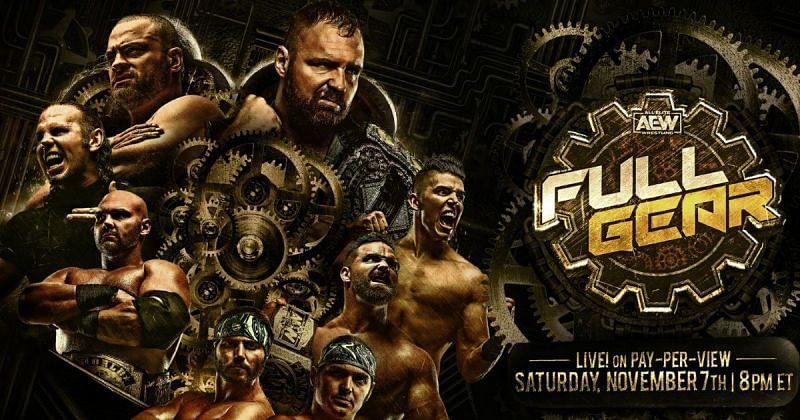 Watch AEW Full Gear 2020 11/7/20