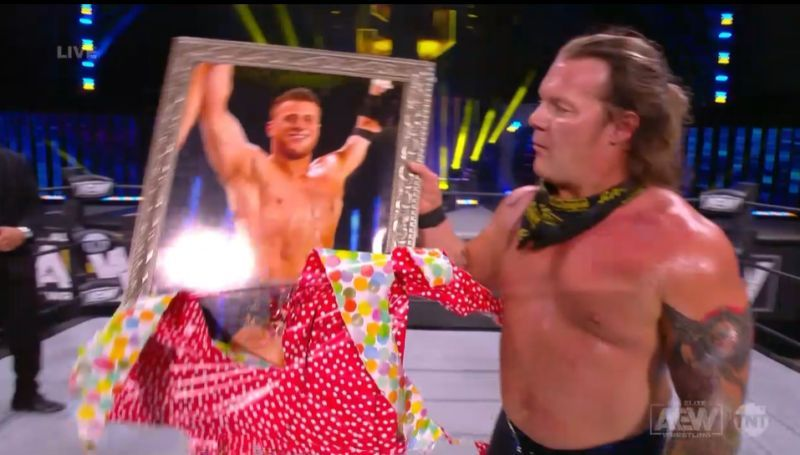 Jericho sees him in a certain way (Image courtesy: AEW)