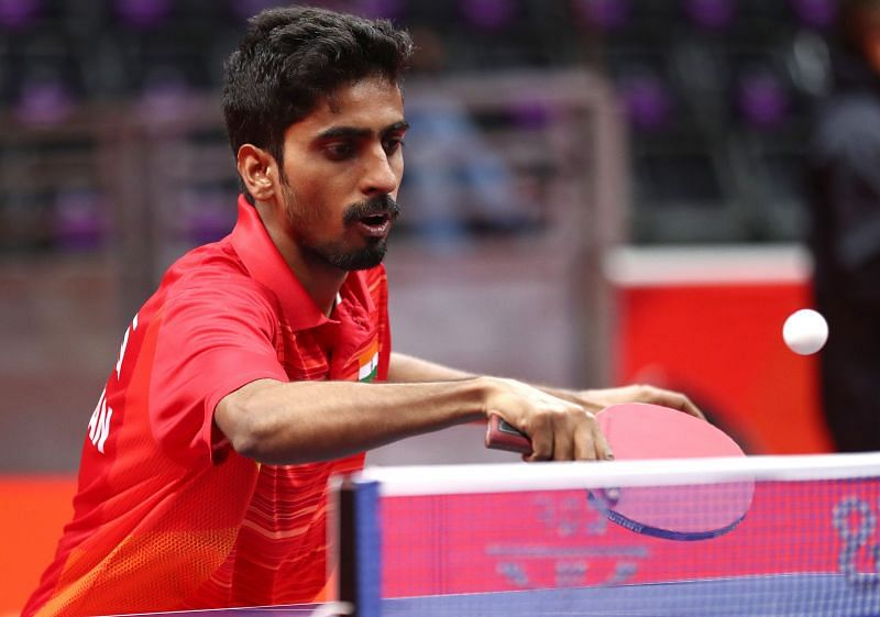 Sathiyan has been in stellar form for Sokolow SA Jaroslaw in the Polish Superliga. (Getty Images)