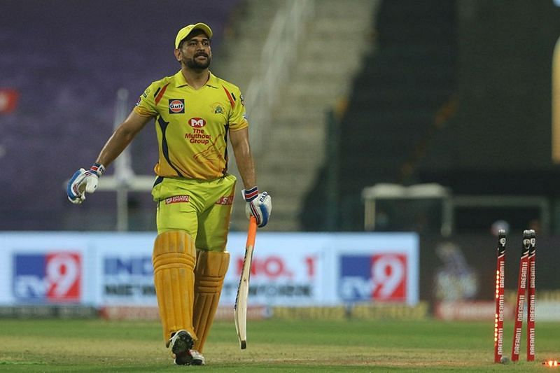 MS Dhoni got out for a 12-ball 11 against KKR on Wednesday (Image Credits: IPLT20.com)