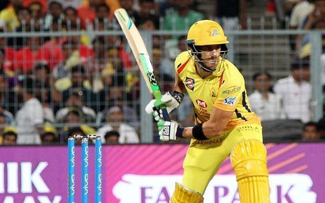 चेन्नई सुपर किंग्स के बल्लेबााज फाफ डू प्लेसी