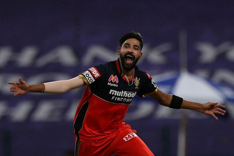 Mohammed Siraj was the star performer for RCB with the new ball [P/C: iplt20.com]