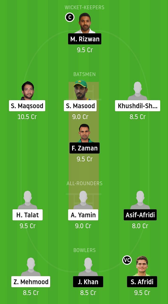 SOP vs KHP Dream11 Team Prediction