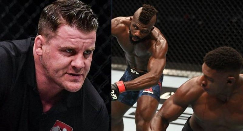 Marc Goddard praised Impa Kasanganay for his positive attitude in the aftermath of a brutal KO loss