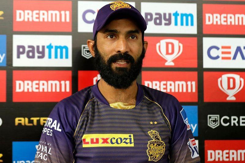 Though he had a fine game as skipper, Dinesh Karthik endured a second failure with the bat.