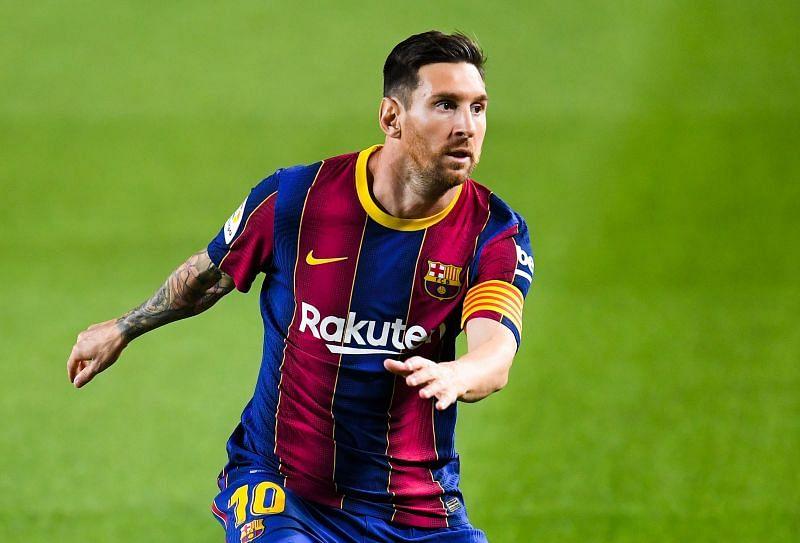 FC Barcelona star Lionel Messi