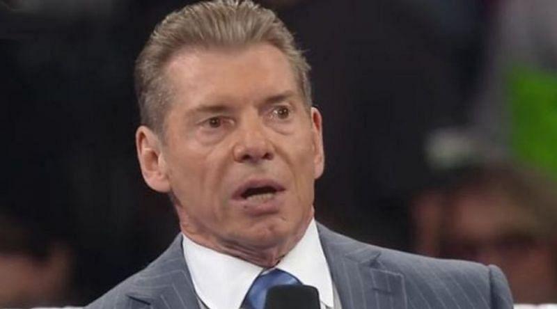 WWE Chairman Vince McMahon