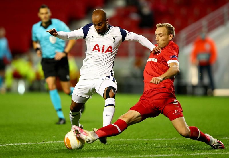 Tottenham slumped to a disappointing defeat in Antwerp tonight