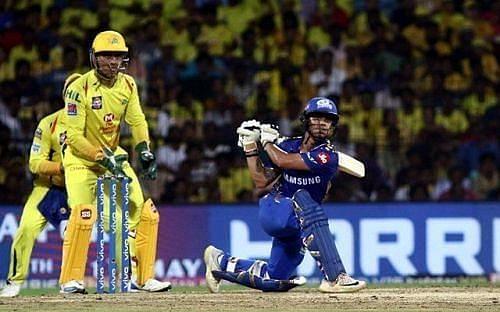 Mumbai Indians vs Chennai Super Kings (Image credit: IPLT20.COM)