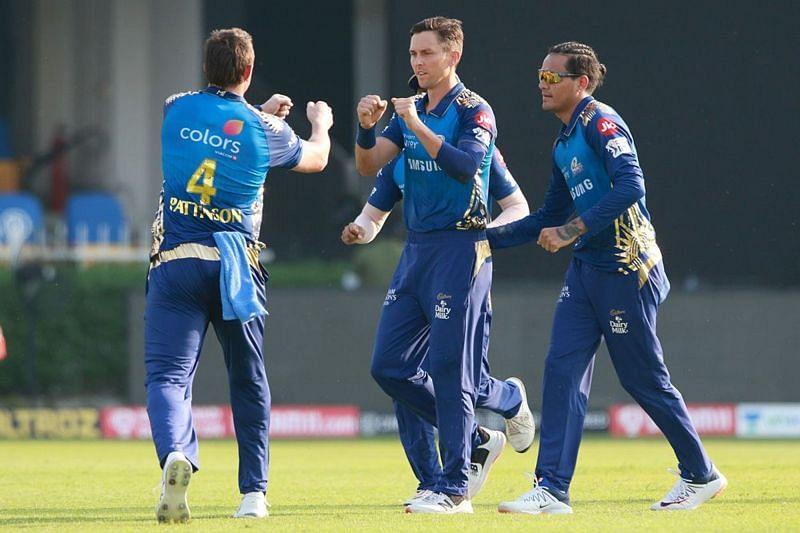 Trent Boult(C) bowled brilliantly against SRH. (Image Credits: IPLT20.com)