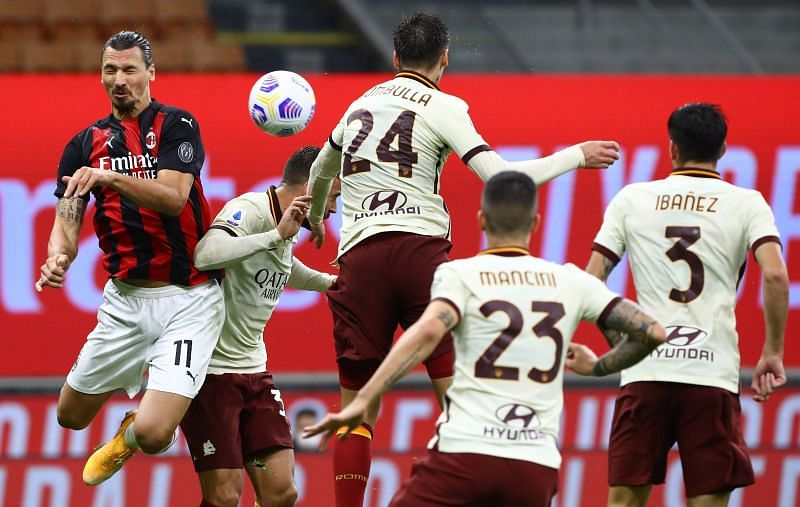 AC Milan shared the spoils with AS Roma