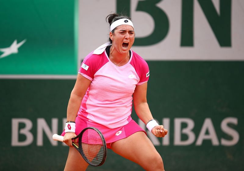 Ons Jabeur at the 2020 French Open