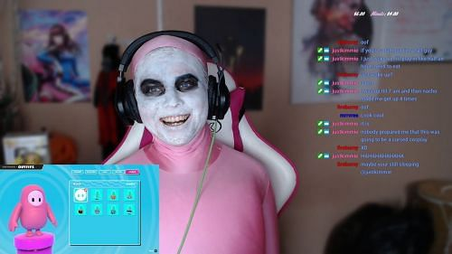 Tony Twitch Halloween 2020 Twitch streamer's Fall Guys cosplay ends up taking dark turn