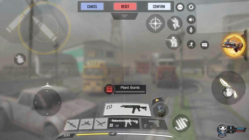 HUD Controls setting in COD Mobile (Image credits: Zilliongamer.com)
