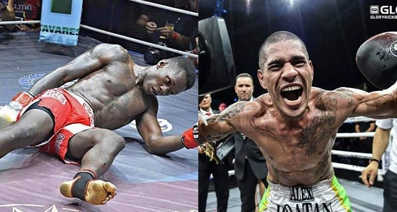 Israel Adesanya was knocked out cold in his rematch against Alex Pereira