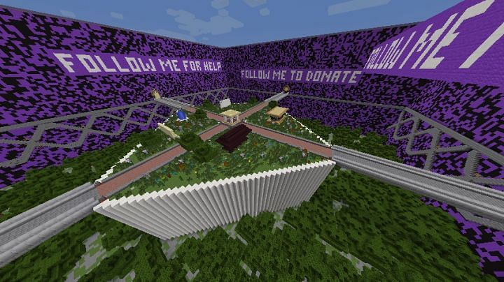 Purple Prison (Image credits: Planet Minecraft)