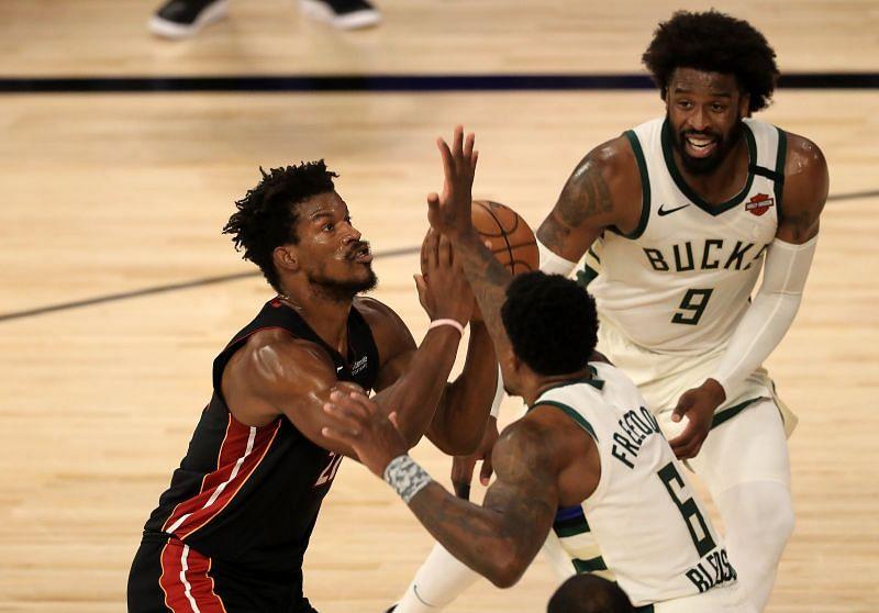 Miami Heat vs Milwaukee Bucks - Game Five