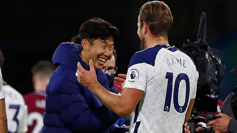 Harry Kane and Heung-Min Son have helped Tottenham score 16 goals in six Premier League games