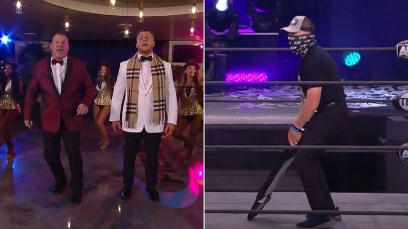 MJF and Chris Jericho