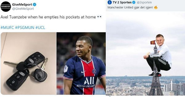 Twitter Reacts to Manchester United beating PSG