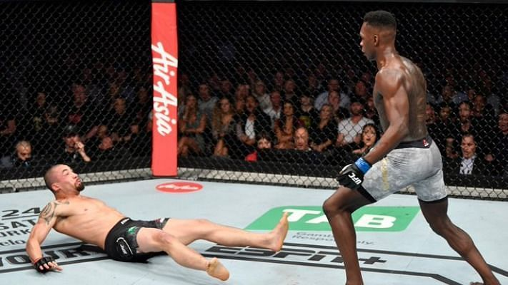 Robert Whittaker was defeated by Israel Adesanya in their first encounter