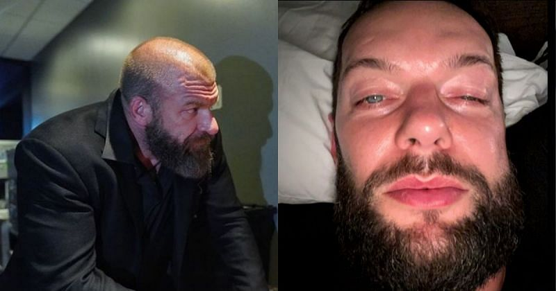 Triple H and Finn Balor.