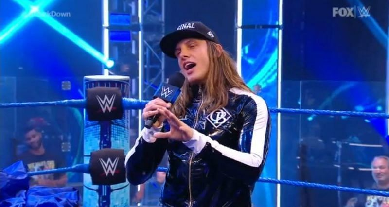 Riddle joined SmackDown earlier this year.