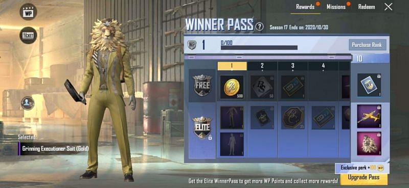 Grinning Executioner Suit (Gold)