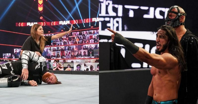 The two biggest moments from RAW.