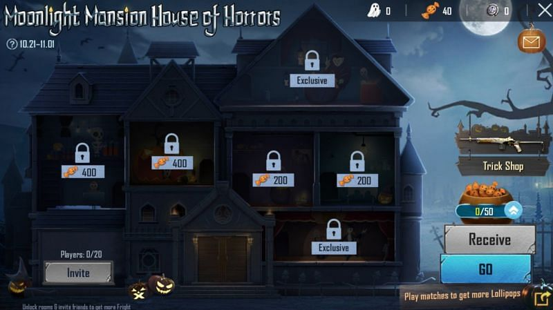 Decoding the Moonlight Mansion House of Horrors event in PUBG Mobile