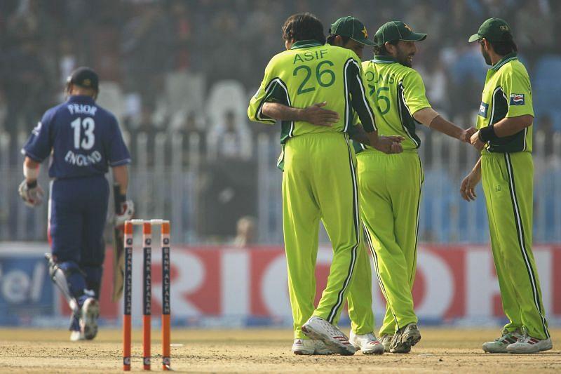 Pakistan and England played an ODI match in Rawalpindi back in 2005