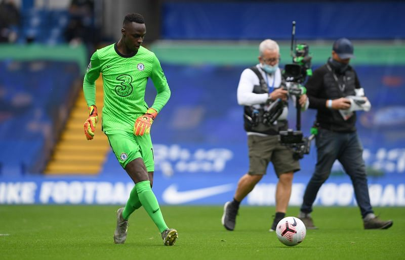 Mendy began his league career with Chelsea with a clean sheet