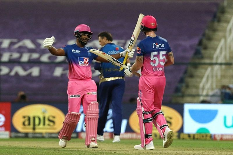 Stokes and Samson stitched an unbroken 152-run partnership for the Rajasthan Royals [P/C: iplt20.com]