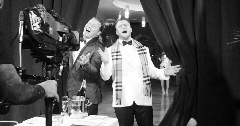 Chris Jericho and MJF.